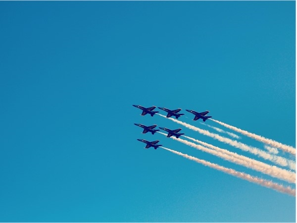 Blue Angels spotted in Orange Beach