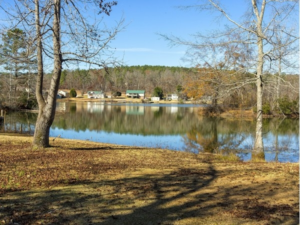 Beautiful view of Woodland Lake