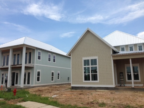 New Single Family Homes going up in Cypress Village.