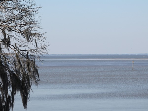 The Lake Forest Yacht Club has a breath taking view of Mobile Bay.