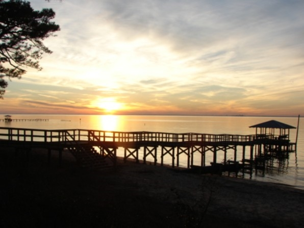 The Mobile Bay views are always breathtaking.