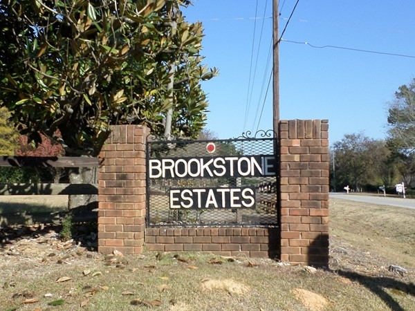 Welcome to Brookstone Estates
