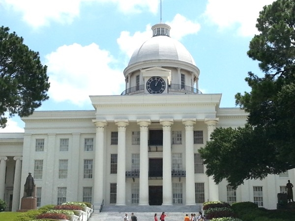 Montgomery,  the capital of Alabama