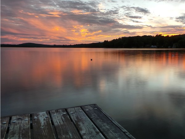 End of the day of lake fun!  Find your paradise on Lake Wedowee