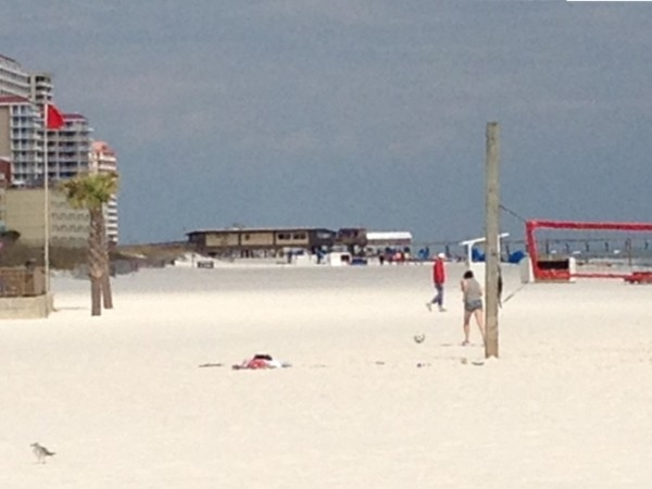 Great spring day on Gulf Shores beach!