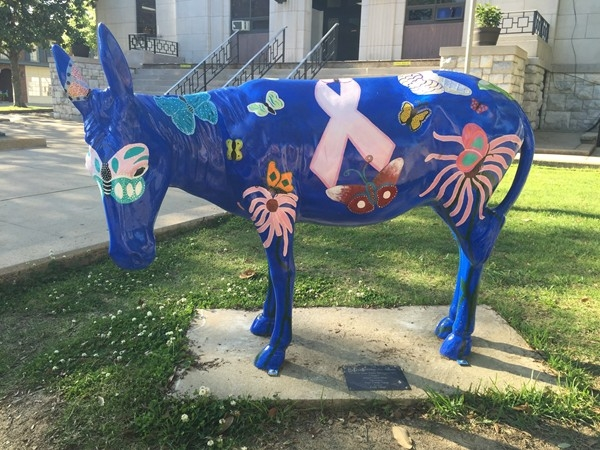 The 50-Mule Team Public Art Project - A product of local artists and the Walker County Arts Alliance