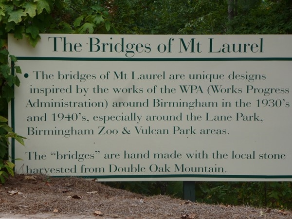 History of the Mt. Laurel bridges