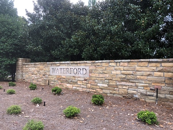 Waterford - A North of the River luxury neighborhood in 35406