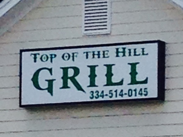 What a great place to eat after a round of golf or anytime your hungry