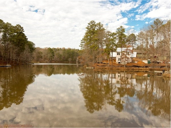 Private lake community just minutes from local dining and shopping