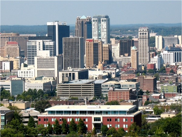 Beautiful downtown Birmingham