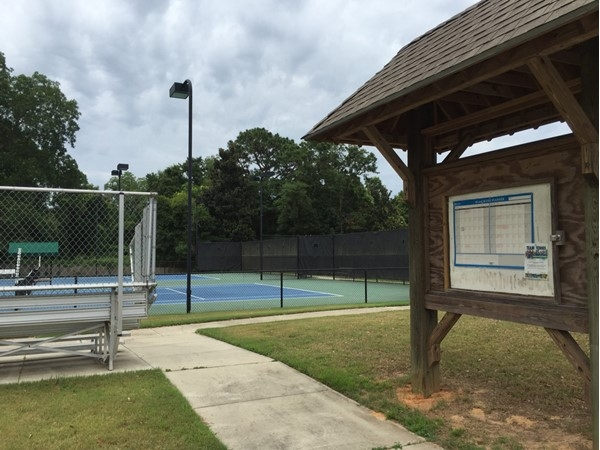 Come play tennis at Spirit Park, Spanish Fort, AL
