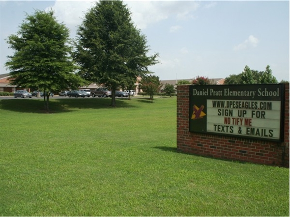 Daniel Pratt Elementary School named after the founder of Prattville