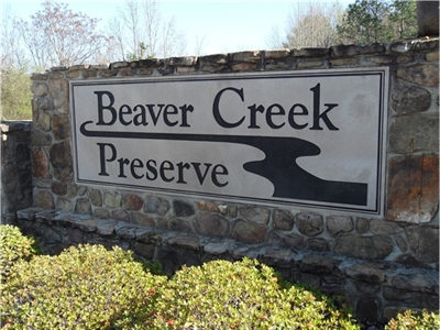 Beaver Creek Preserve Subdivision Real Estate Homes For