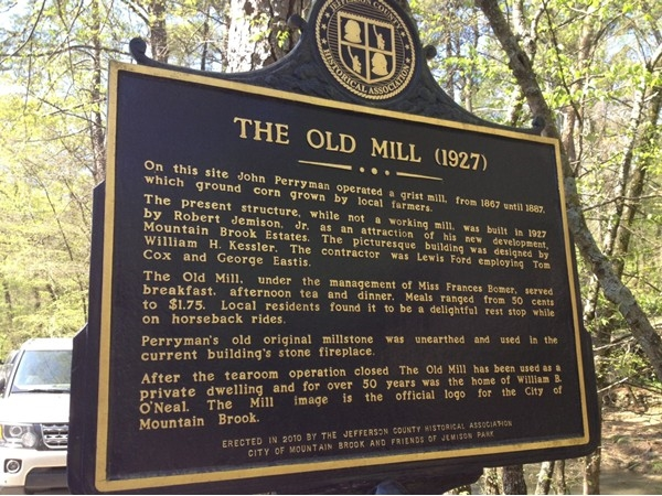 The Old Mill story