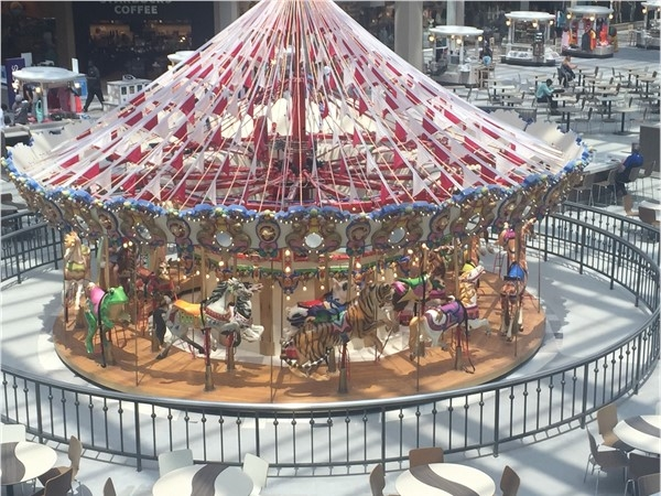 Merry Go Round at Hoover Galleria