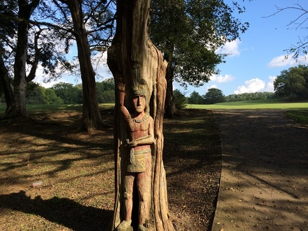 Orr Park has many such beautiful wood carvings - a wonderful place to spend an afternoon