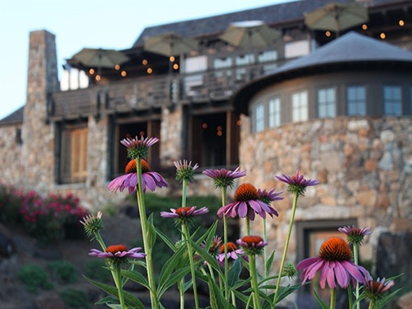 Springhouse Restaurant at Russell Crossroads on Lake Martin is a must on your bucket list