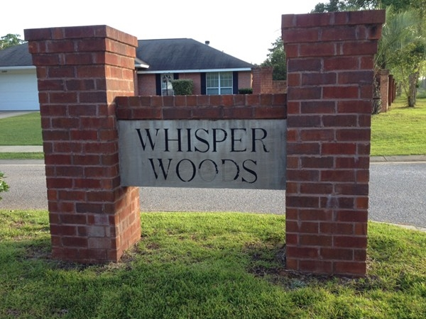 Whisper Woods offers convenience and affordable housing in the Spanish Fort School district.