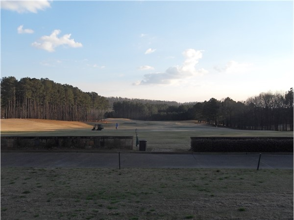 View of Ballantrae Driving Range
