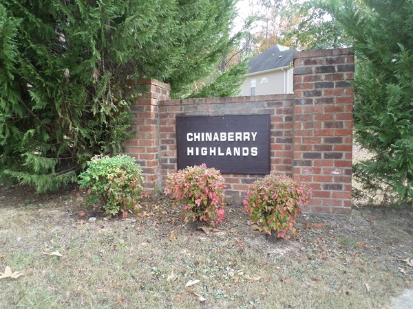 Welcome to ChinaBerry Highlands