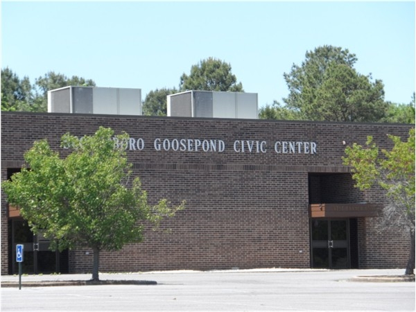 Scottsboro Goosepond Civic Center