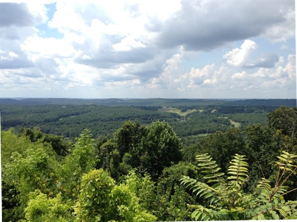 View of Oxmoor Valley from Tip Top Grill