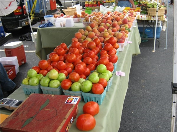 Everything is fresh and local at Green Street Market