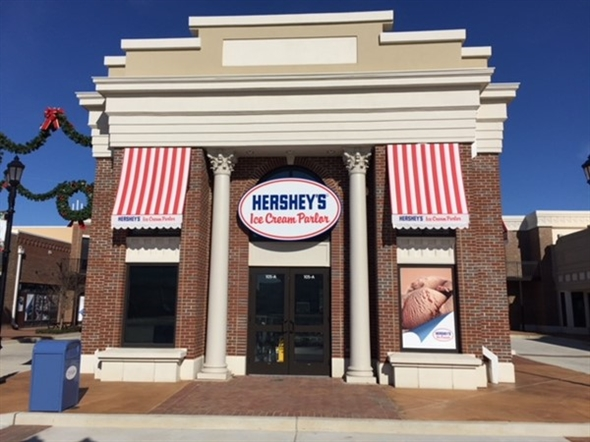 Hershey's Ice Cream Parlor for a cold sweet treat