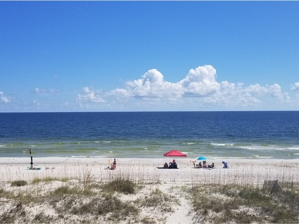Beautiful view from a private home on West Beach in Gulf Shores  - So relaxing