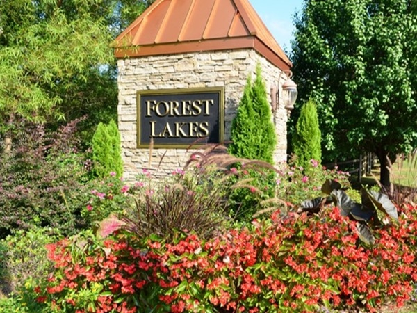 Entrance at Forest Lakes