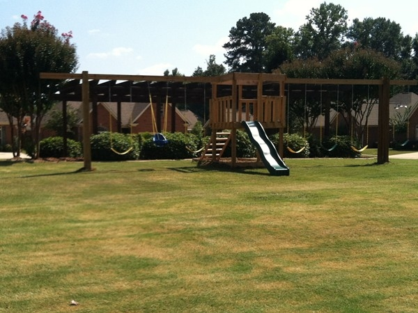 The children's playground in Highgrove Subdivision