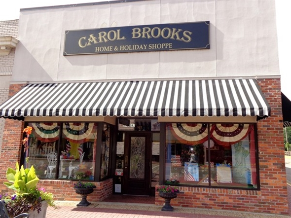 Shop at Carol Brooks Home and Holiday Shoppe in downtown Prattville for adorable holiday items.