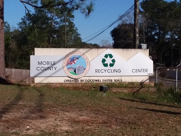 Looking to recycle? Check out Mobile County Recycling Center