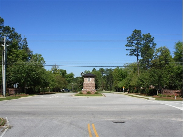 Entrance to Garrison Ridge located directly across from Spanish Fort Elementery on hwy 225