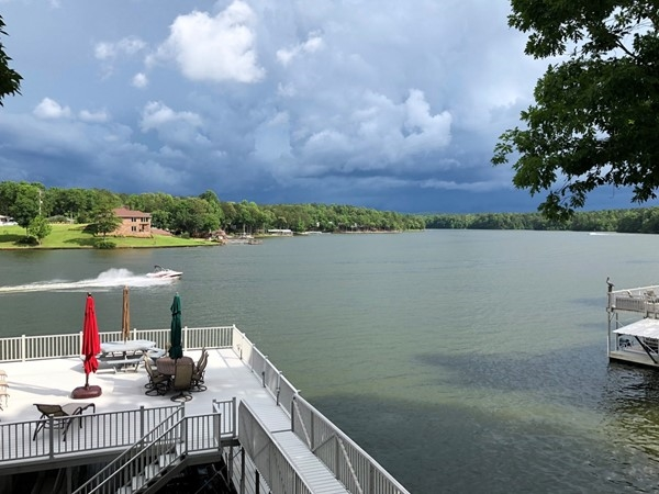 Stormy skies over Lake Wedowee - Memorial weekend 2018