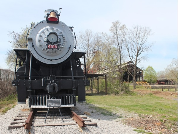 St. Louis - San Francisco Engine #4018 at Sloss Furnaces
