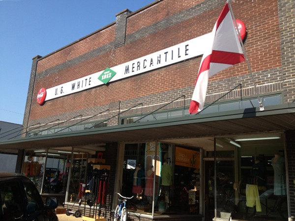 U. G. White Mercantile downtown Athens