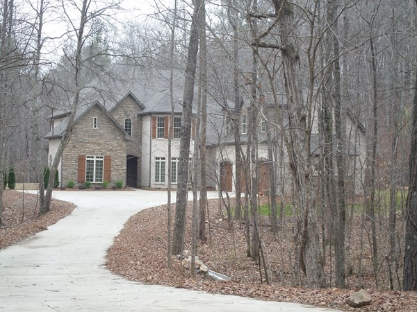 Beautiful home on wooded lot in Olde Weatherly
