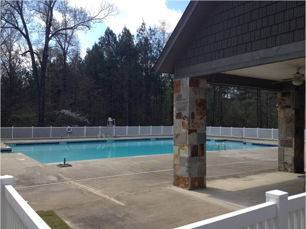 Pool in the Timberline Golf Course Community