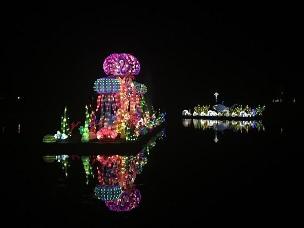 The Chinese Garden Lantern Festival was more than beautiful