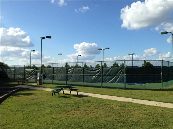 Letson Farms in Bessemer offers two tennis courts for its residents