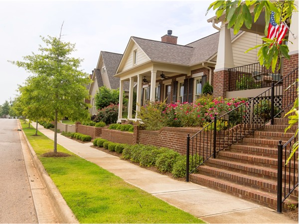 Take a stroll through the neighborhood and admire your neighbors' curb appeal