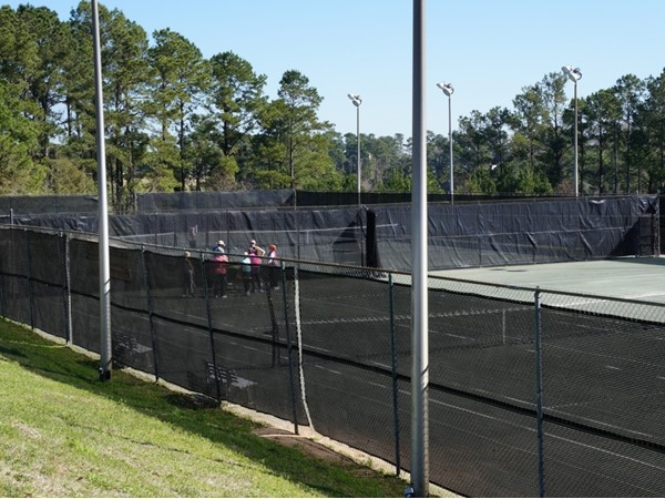 Lake Forest Racquet Club has four clay courts and two hard courts.