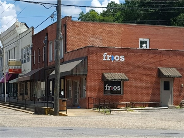 Frios is a great place to go cool off and have a sweet treat in downtown