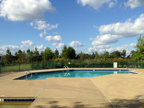 The neighborhood pool of Letson Farms in Bessemer