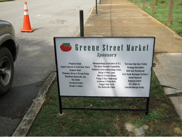 Green Street Market is held every Thursday after 3 p.m. at corner of Eustis Ave. and Green St.