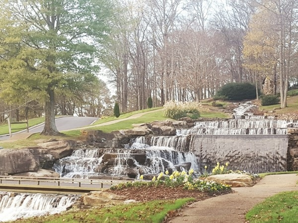 If you have ever been through Hampton Cove community, you will recognize this stunning waterfall
