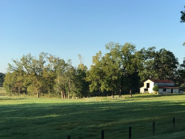 Beautiful countryside in Montevallo
