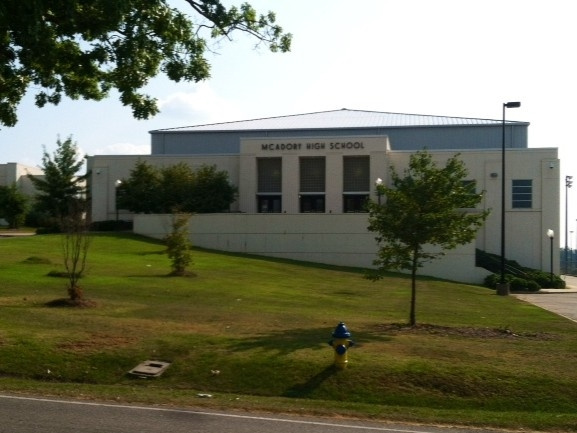 McAdory High School in McCalla